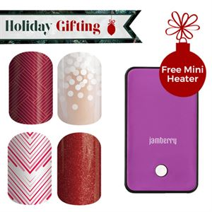 Picture of Holiday Nail Wraps - Buy 3, Get 1 Free