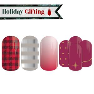 Picture of Holiday Nail Lacquer Strips - Buy 3, Get 1 Free